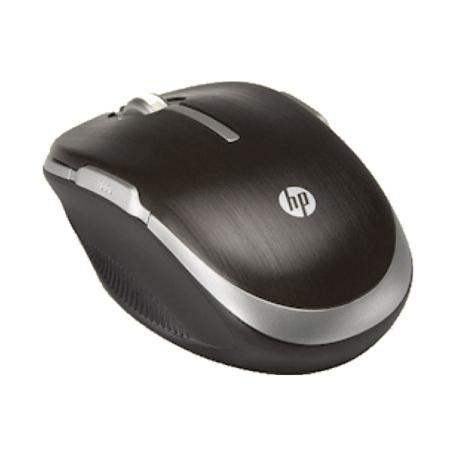 HP LQ083AA WiFi Mobile Mouse (Laser, 5-knops, alleen Win7)