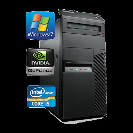 Lenovo ThinkCentre M90p TWR C-i5 3.2GHz 4GB/160GB/DVDRW GF310/Gb/8xUSB/7P+WiFi