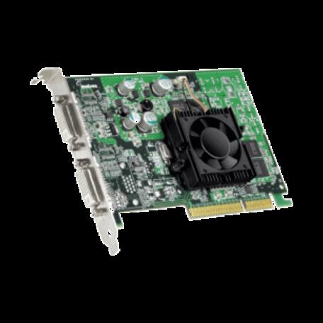 Matrox P750 Dual-Head videokaart (AGP 8x, 64MB DDR, 2x DVI-I)