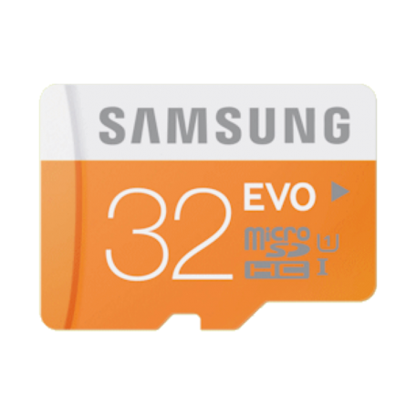 Samsung MB-MP32DA/EU 32GB EVO microSDHC Card Class 10 + SD-adapter