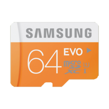 Samsung MB-MP64DA/EU 64GB EVO microSDXC Card Class 10 + SD-adapter