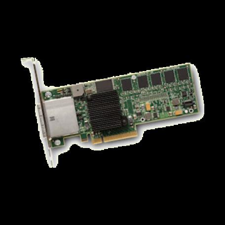 LSI Logic MegaRAID SAS 8880EM2 8-kanaals PCI-e x8 SAS RAID-controller+512MB cache