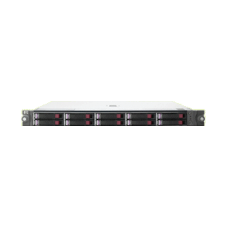 HP/Compaq StorageWorks MSA50 1U Modular Smart Array met 10x 146GB 10K 2.5