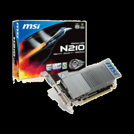 MSI N210-MD1GD3H/LP GeForce GT210 PCI-E 2.0 (1GB, VGA+DVI+HDMI, LP)