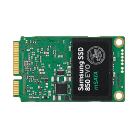 Samsung MZ-M5E250 SSD 850 EVO 250GB mSATA SSD (3D V-NAND, Samsung MGX, 6Gb/s)