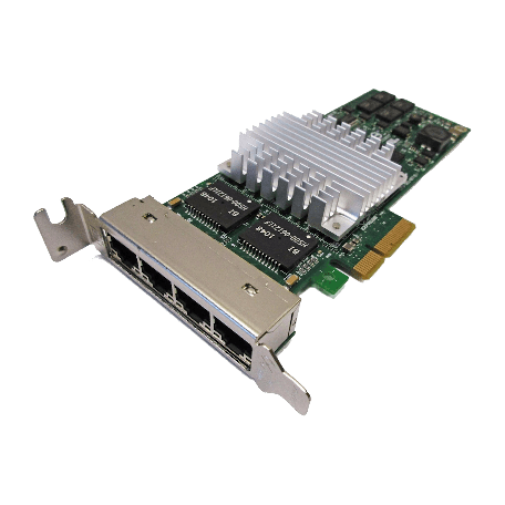 HP NC364T 4-port PCIe x4 Gigabit Ethernet Server Adapter
