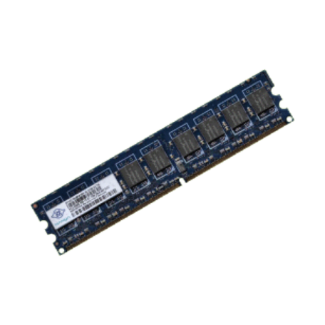 Nanya NT2GT72U8PD0BY-AD 2GB PC2-6400E CL6 2Rx8 ECC DDR2-800 DIMM