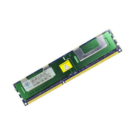 Nanya NT4GC72B4NA1NL-BE 4GB DDR3-1066MHz PC3-8500 2Rx4 RDIMM module