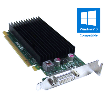 Nvidia NVS 300 Low-Profile Dual-Head 512MB PCIe x16 videokaart