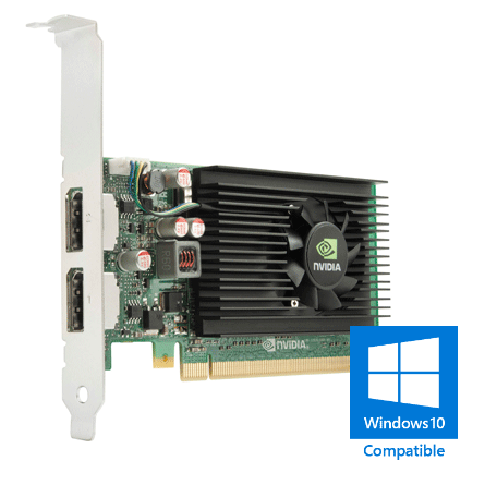 Nvidia NVS 310 Full-Height Dual-Head 512MB PCI-e x16 videokaart