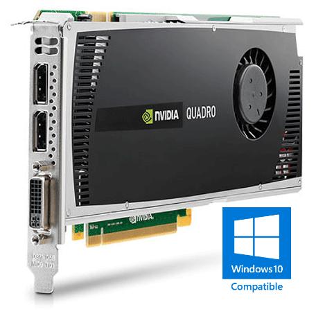 Nvidia Quadro 4000 PCIe 2.0 x16 (2GB GDDR5, DVI-I + 2x DisplayPort)