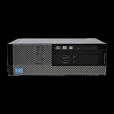 Dell Optiplex 3020 SFF Core i3-4130 3.4GHz, 4GB RAM/120GB SSD, USB3.2, DP+VGA, Win 10 Home