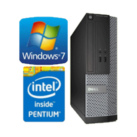 Dell Optiplex 3020 SFF G3220 3.0GHz 4GB/500GB/DVDRW Gbit/USB3.0/DP1.2/W7P