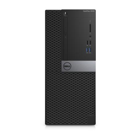 Dell Optiplex 3040 MT Core i5-6500 3.2GHz, 8GB DDR4/250GB SSD+500GB HD, DVDRW, 4xUSB3.0, Win 10 Pro