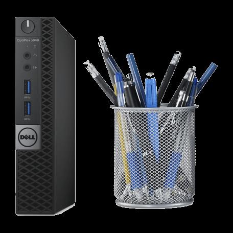 Dell Optiplex 3040 Micro Core i3-6100T 3.2GHz, 4GB RAM/128GB SSD, USB3.0, DP+HDMI, W7 Pro+W10 Pro