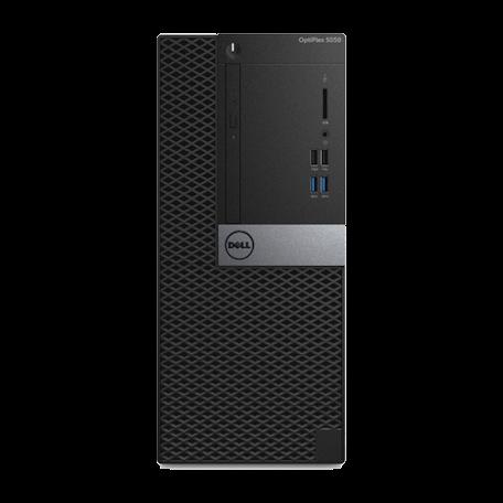 Dell Optiplex 5050 MT Core i5-7500 3.4GHz, 8GB DDR4/240GB SSD, DVDRW, 6x USB3.1, HDMI+2x DP, W10 Pro
