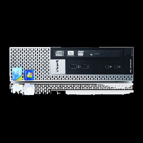 Dell Optiplex 780 USFF Core2Duo 2.93GHz, 4GB DDR3/320GB HDD, DVDRW, Gigabit LAN, 7x USB, Win 10 Home