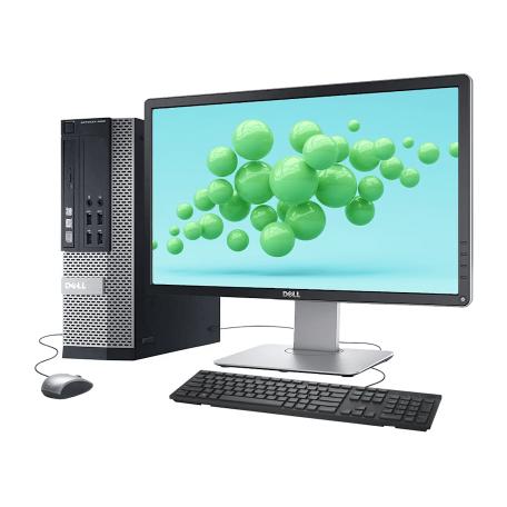 Dell Optiplex 9020 SFF SET Core i5-4590, 8GB/128GB SSD, DVDRW, Win 10 Pro + 23