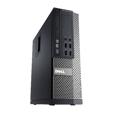Dell Optiplex 990 SFF Core-i5 3.1GHz 4GB RAM/250GB HDD, DVD, Gigabit-LAN, 10x USB2.0, Win 7 Pro