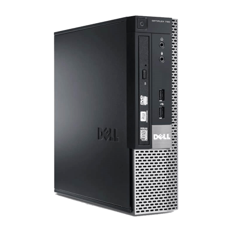 Dell Optiplex 790 USFF Core i3-2100 3.1GHz, 4GB DDR3/120GB SSD, DVDRW, Gigabit + 6xUSB, Win 10 Home