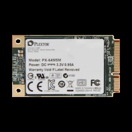 Plextor PX-64M5M M5M-serie 64GB (mini-SATA 6Gb/s, MLC, 540/160MB/s)