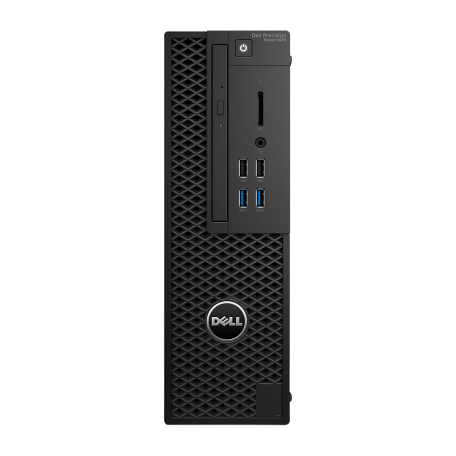 Dell Precision Tower 3420 Core i7-6700 3.4GHz, 32GB DDR4/512GB SSD, DVD, HDMI+2xDP, Win 10 Pro
