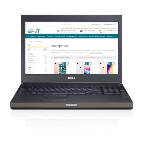 Dell Precision M4800 i7-4810MQ 16GB RAM/480GB SSD, WiFi+BT, 15.6