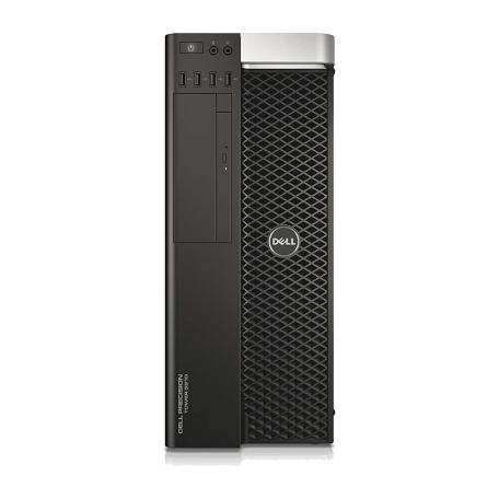 Dell Precision T5810 Xeon E5-1660v3 8-core, 32GB/480GB SSD+1TB HD, DVD, Quadro M4000 8GB, Win 10 Pro