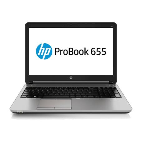 HP ProBook 655 G1 A10-5750M, 8GB RAM/525GB SSD, 15.6 inch HD, WiFi+BT, Radeon HD 8650G, Win 10 Pro