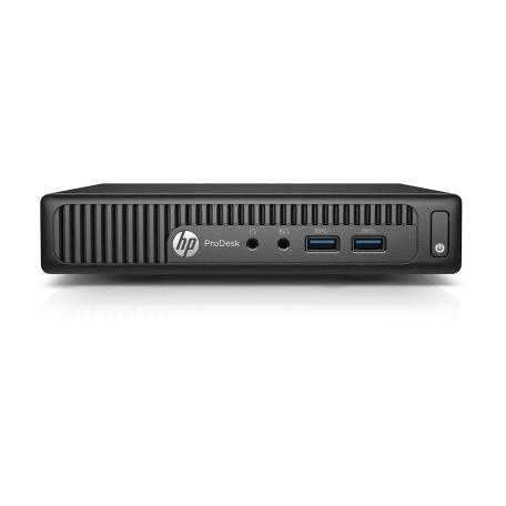 HP ProDesk 400 G2 Mini Core i5-6500T 2.5GHz, 8GB RAM/256GB SSD, Gbit, 4x USB3.0, VGA+DP, Win 10 Pro