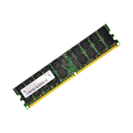 HP 405475-051 1GB DDR2 PC2-5300P Single-Rank DIMM-module