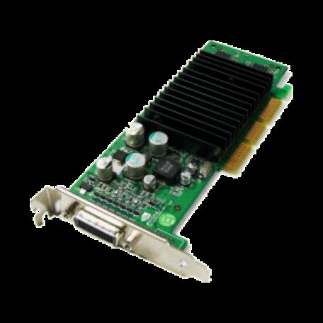 Nvidia Quadro4 100NVS 4x AGP-videokaart (64MB, Dual-Head DMS-59) + kabel