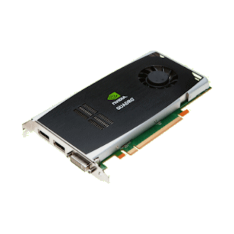 Nvidia Quadro FX1800 PCI-Express (768MB 192bit GDDR3, 2x DP + 1x DVI-I)