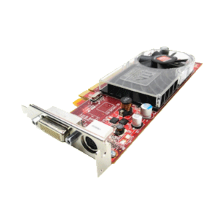 ATI Radeon HD3400 Low-Profile PCI-E x16 (256MB, Dual-Head) + kabel