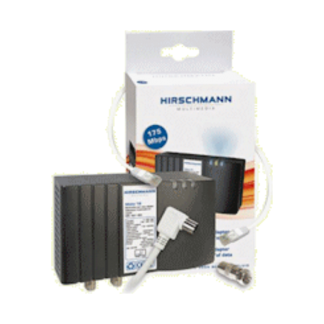 Hirschmann SHOP MOKA 16 Multimedia over coax adapter data-/videostreaming