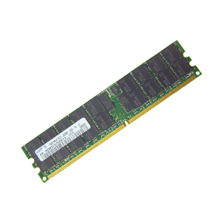 Samsung M393T5750BY0-CCC 2GB DDR2 PC2-3200R CL10 Dual-Rank DIMM-module