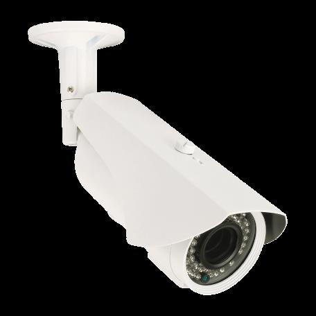 König SAS-CAM2110 Bullet CCTV-beveiligingscamera (700 TVL, IP66, varifocale lens, IR-nachtvisie)