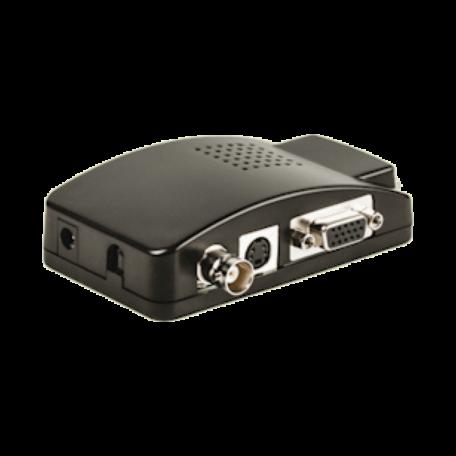 König SAS-VGA12 BNC & S-Video naar VGA converter (max. 1600x1200)