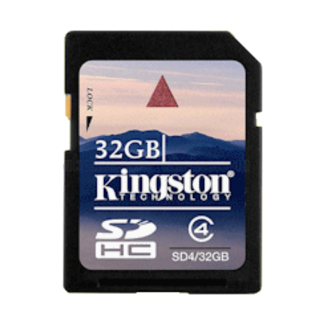 Kingston SD4/32GB 32GB SecureDigital HC Card Class 4