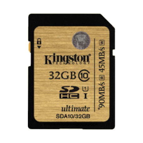 Kingston SDA10/32GB 32GB SDHC Class 10 UHS-I Flash Card