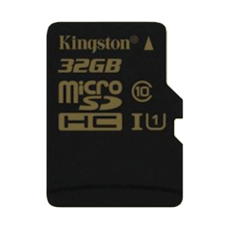 Kingston SDCA10/32GB 32GB microSDHC/SDXC Card - Class 10 UHS-I +adapter
