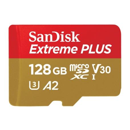 SanDisk SDSQXBZ-128G-GN6MA Extreme Plus 128GB microSDXC Klasse 10 170MB/s flashgeheugen