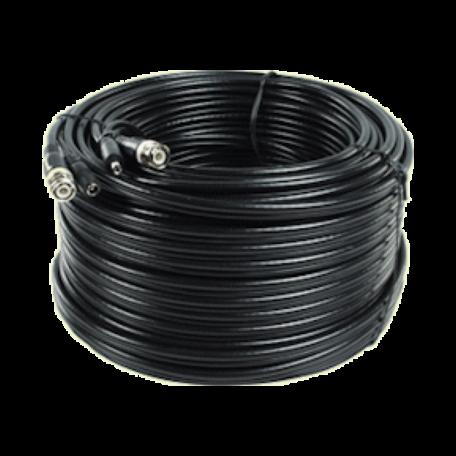 König SAS-CABLE1050B 50.0M Security Coax-kabel RG59 + DC-voeding