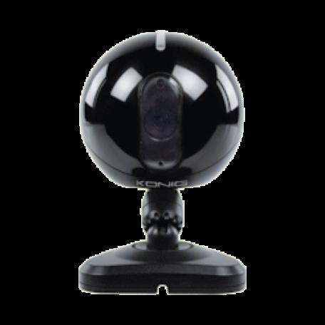 König SEC-IPCAM105B IP-camera (WiFi, Night-Vision, MJPEG, SDHC, Zwart)