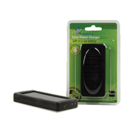 HQ SOL-PC011-HQ Universele Li-Ion batterij/lader met zonnepaneel