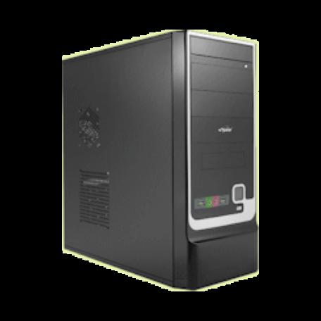 Spire SPD305B-420W-PFC CoolBox 305 Miditower (420W ATX, zwart, USB+audio)