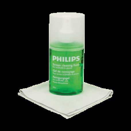 Philips SVC1116G/10 Schermreiniger voor beeldschermen (200ml + doek)
