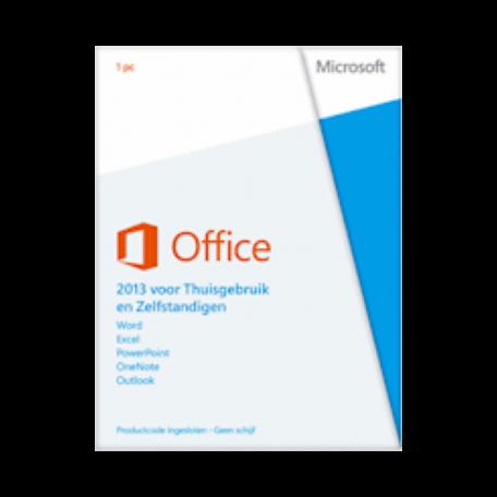 Microsoft T5D-01626 Office 2013 voor Thuisgebruik en Zelfstandigen 1PC