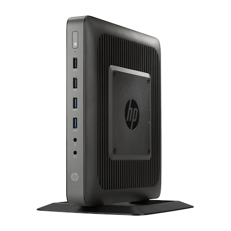 HP F5A53AA#ABA t620 met Windows Embedded 7 Standard (16GB Flash/4GB RAM, 2x USB3.0, 2x DisplayPort)
