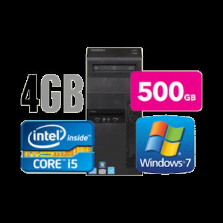 Lenovo ThinkCentre M91p TWR Core i5-2400 3.1GHz 4GB/500GB/DVDRW Gbit/8xUSB/W7P